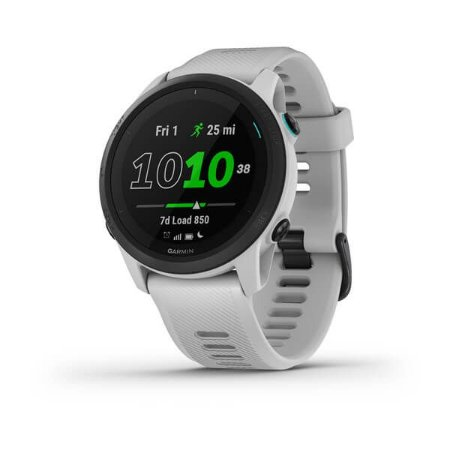 Relógio Garmin Forerunner 745 Whitestone com GPS e Monitor Cardíaco