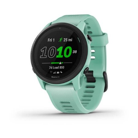 Relógio Garmin Forerunner 745 Neon Tropic com GPS e Monitor Cardíaco