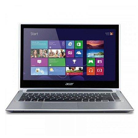 """Notebook Acer V5-431-2618 Prata Intel Celeron 1007U, 8GB, HD 500GB, Tela de 14"""" e Windows 8"""
