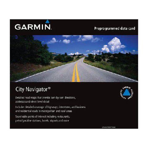 Atualização via Download Express City Navigator® Garmin América do Sul NT 2021.20 - Exclusivo para DriveSmart 60/70