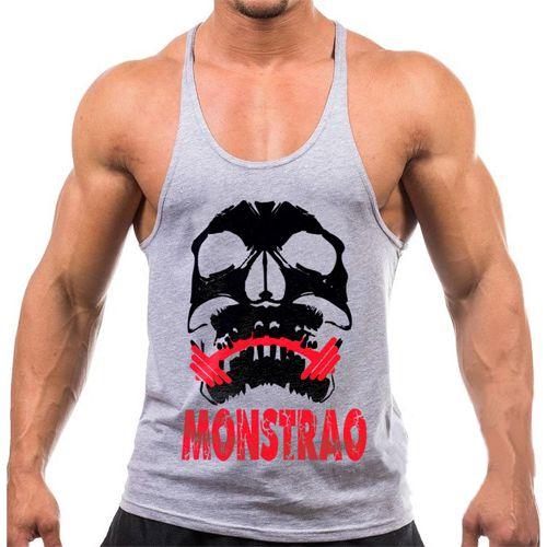 Regata cavada Musculação Fitness Monstrão