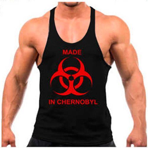 Regata cavada Musculação Fitness Made in Chernobyl