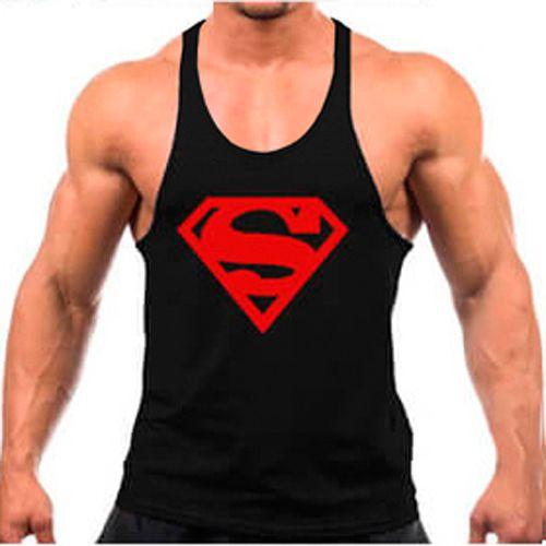 Regata cavada Musculação Fitness Superman