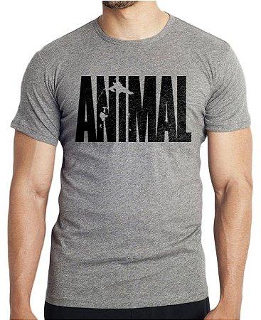 Camiseta cinza Animal