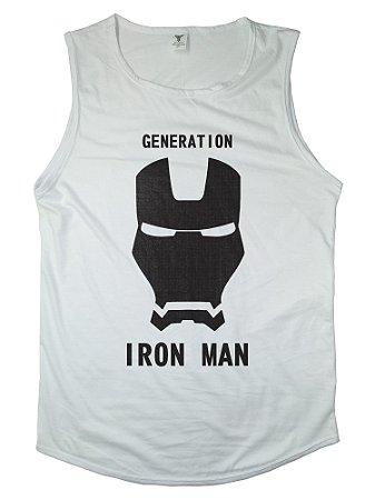 Regata Machão Long Iron Man