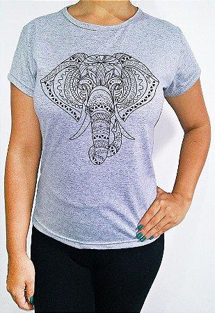 Baby Look feminina Elefante