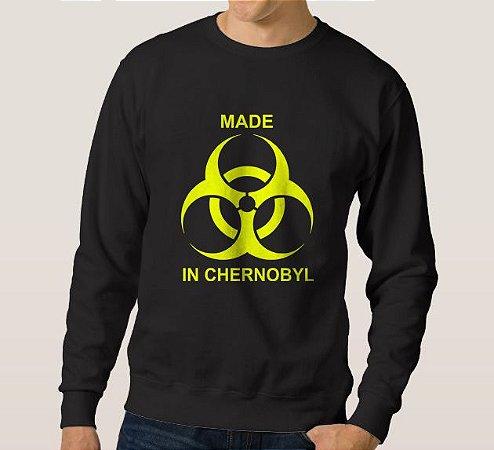 Moletom Masculino Made in Chernobyl