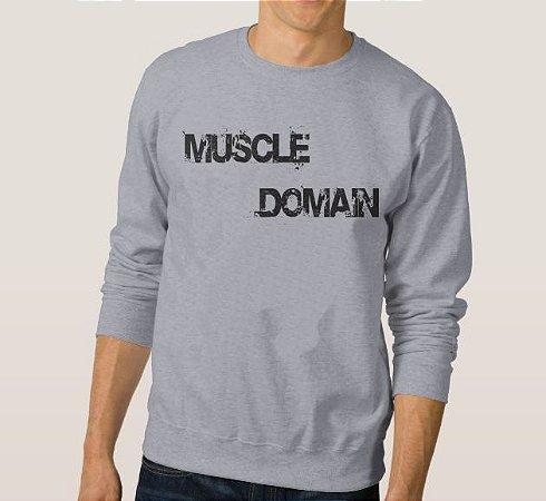 Moletom Masculino Muscle Doman