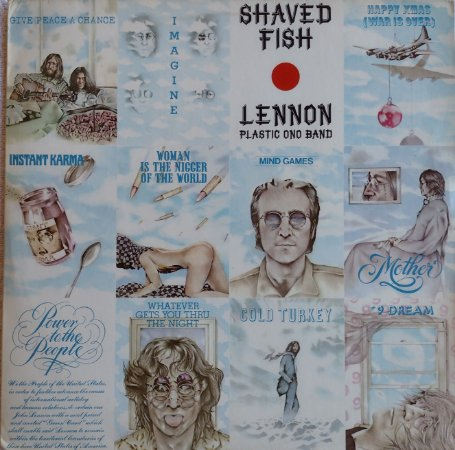 John Lennon - Shaved Fish - Lennon Plastic Ono Band