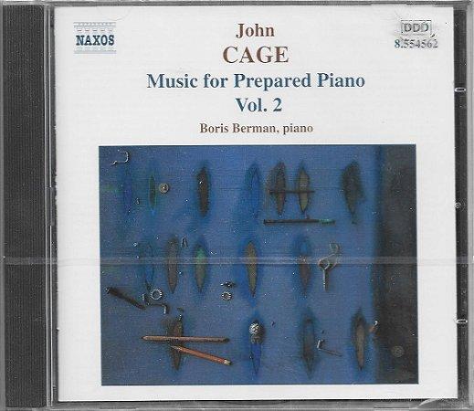 John Cage - 1999 - 2000 - Music for Prepared Piano - Vol. 2 - Boris Berman - Piano