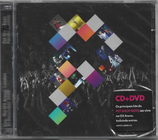 Pet Shop Boys - 2010 - Pandemonium CD + DVD