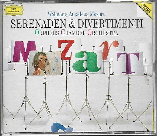 Wolfgang Amadeus Mozart - 1986 - 1990 - Mozart - Serenade & Divertimenti - Orpheus Chamber Orchestra - 4 CDs