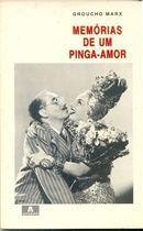Livro Memórias de um Pinga Amor Autor Groucho Marx (1987) [usado]