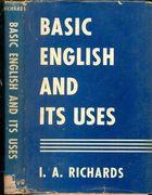 Livro Basic English And Its Uses Autor I. A. Richards (1943) [usado]