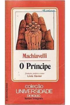 Livro o Príncipe-coleção Universidade de Bolso Autor Machiavelli [usado]