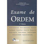 Livro Exame de Ordem Autor Rodrigo Canda e José Silveira do Carmo Júnior (2007) [usado]