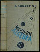 Livro a Survey Of Modern Algebra Autor Garrett Birkhoff, Saunders Maclane (1944) [usado]