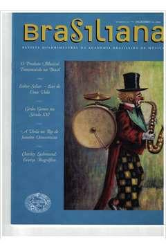 Livro Revista Brasiliana - N° 24 - Ano 2006 Autor Academia Brasileira de Música [usado]