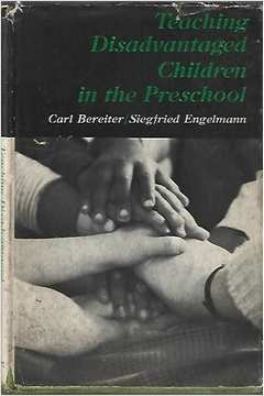 Livro Teaching Disadvantaged Children In The Preeschool Autor Carl Bereiter; Siegfried Engelmann (1966) [usado]