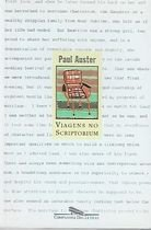 Livro Viagens no Scriptorium Autor Paul Auster (2007) [usado]