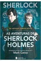 Livro as Aventuras de Sherlock Holmes Autor Sir Arthur Conan Doyle (2013) [usado]
