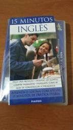Livro 15 Minutos Inglês + Cds Autor Jane Wightwick (2009) [usado]