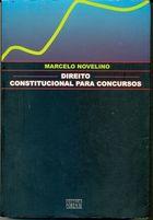 Livro Direito Constitucional para Concursos Autor Marcelo Novelino (2007) [usado]