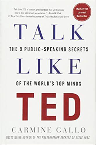 Livro Talk Like Ted: The 9 Public Speaking Secrets Autor Carmine Gallo (2014) [usado]