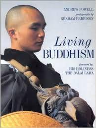 Livro Living Buddhism Autor Andrew Powell (1994) [usado]
