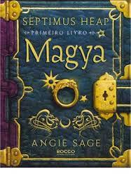Livro Magya - Septimus Heap - Primeiro Autor Angie Sage (2008) [usado]