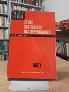 Livro Ètude Statistique Des Dèpendances Autor S. Aïvazian (1978) [usado]