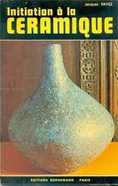 Livro Initiation À La Céramique Autor Jacques Rayes (1978) [usado]