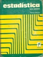 Livro Estadísdica Autor Taro Yamane (1974) [usado]
