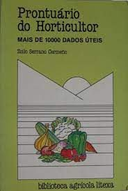 Livro Prontuário do Horticultor Autor Zoilo Serrano Cermeño (1988) [usado]