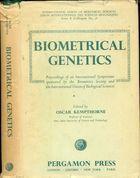 Livro Biometrical Genetics: Proceedings Of An International... Autor Oscar Kempthorne (edição) (1960) [usado]