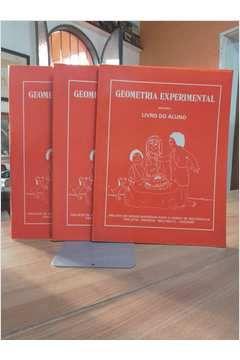 Livro Geometria Experimental - do Aluno - em 3 Volumes Autor Marineusa Gazzetta Soares (coordenadora) (1974) [usado]