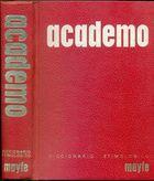 Livro Diccionario Etimológico Espanhol. Academo Autor Félix Diez Mateo (1968) [usado]