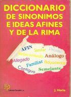 Livro Diccionario de Sinomimos e Ideas Afines... Autor Joaquim Horta Massanes (1991) [usado]