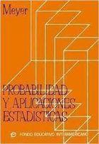 Livro Probabilidad Y Aplicaciones Estadisticas - Autor Paul L. Meyer (1973) [usado]