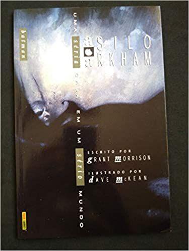 Livro Batman Asilo Arkham - Uma Séria Casa em um Sério Mundo Autor Grant Morrison, Dave Mckean (2003) [usado]