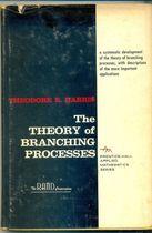 Livro The Theory Of Branching Processes Autor Theodore E. Harris (1963) [usado]