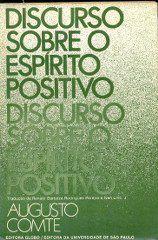 Livro Discurso sobre o Espírito Positivo Autor Augusto Comte (1976) [usado]