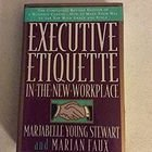 Livro Executive Etiquette In The New Workplace Autor Marjabelle Young Stewart, Marian Faux (1994) [usado]
