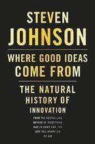 Livro Where Good Ideas Come From: The Natural History Of Innovation Autor Steve Johnson (2010) [usado]