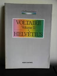 Livro Voltaire Helvétius Autor os Pensadores (1988) [usado]