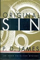 Livro Original Sin Autor P. D. James (1995) [usado]