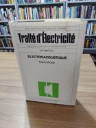 Livro Traité D Électricité Vol. Xxi - Électroacoustique Autor Mario Rossi (1986) [usado]