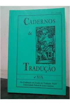 Livro Cadernos de Tradução_9 Autor Pget (1989) [usado]