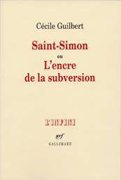Livro Saint-simon ou L Encre de La Subversion Autor Cécile Guilbert (2006) [usado]