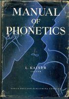 Livro Manual Of Phonetics Autor L. Kaiser ( Editor) (1957) [usado]
